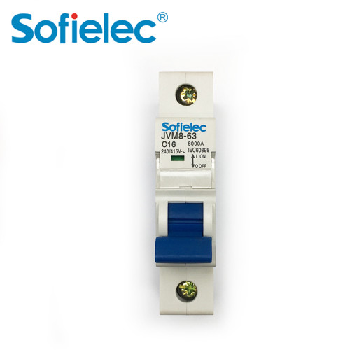 Sofielec Top sale starJVM8-63 6kA MCB factory price, fine and unique appearance advanced design