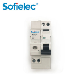 Hot selling europe market 6-32A 1P+N CB approval AFDD untis arc fault circuit breaker