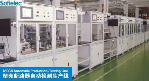 MCCB Automatic Production-Testing Line