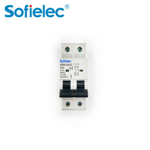 6kA SFM3-125 DC 63A best quantity D16 types of miniature circuit breaker