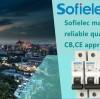 Sofielec mass production MCB SFM65-63, reliable quality factory MCB 63A, SEMKO,CB,CE approval