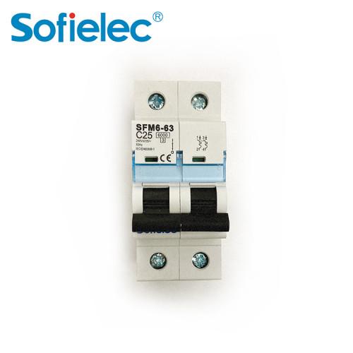 NF approval 40amps Disjoncteur miniature MCB
