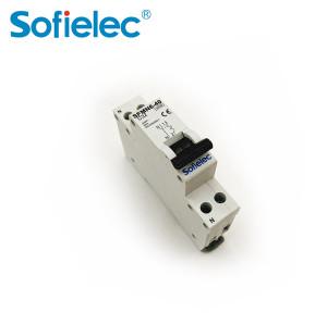 disjoncteur tableau electrique 3KA 1P+N DPN NF 16amp mini MCB
