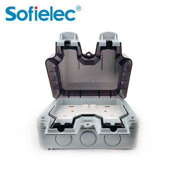 power industrial socket with IP66