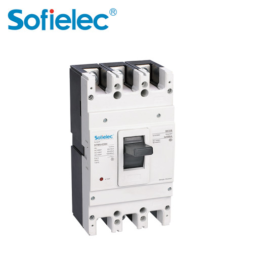 1250A Residual Current Operated mccb 3P 4P Circuit Breakers RCCB