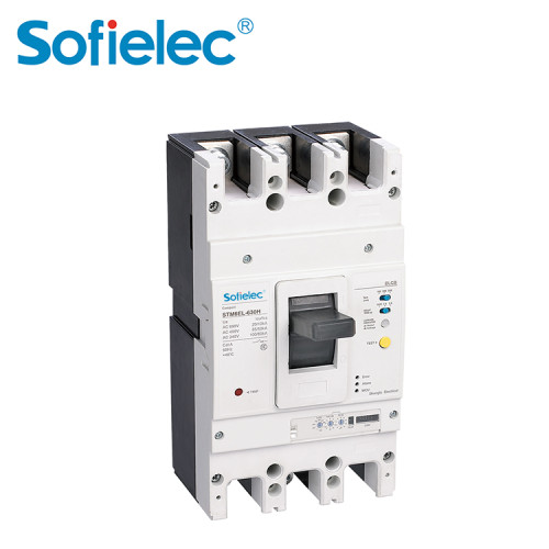 STM6EL 1250A Residual Current Operated mccb 3P 4P Circuit Breakers RCCB