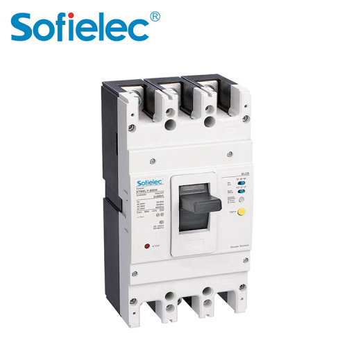 STM6LY 800A Residual Current Operated mccb 3P 4P Circuit Breakers RCCB