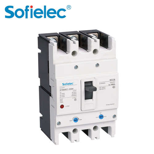 STM6RT Series Moulded-case Circuit Breaker of Thermomagnetic Adjustable Type