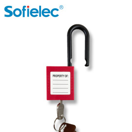 Engineering safety padlock steel shackle padlock