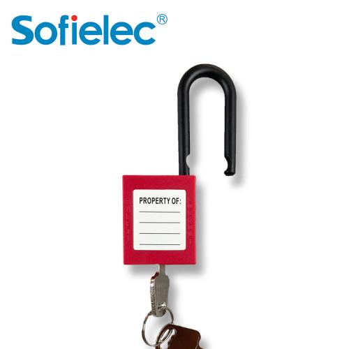 Engineering safety padlock steel shackle padlock