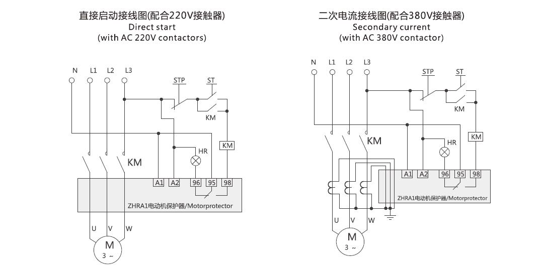 ZHRA1(K) Motor Protector relay
