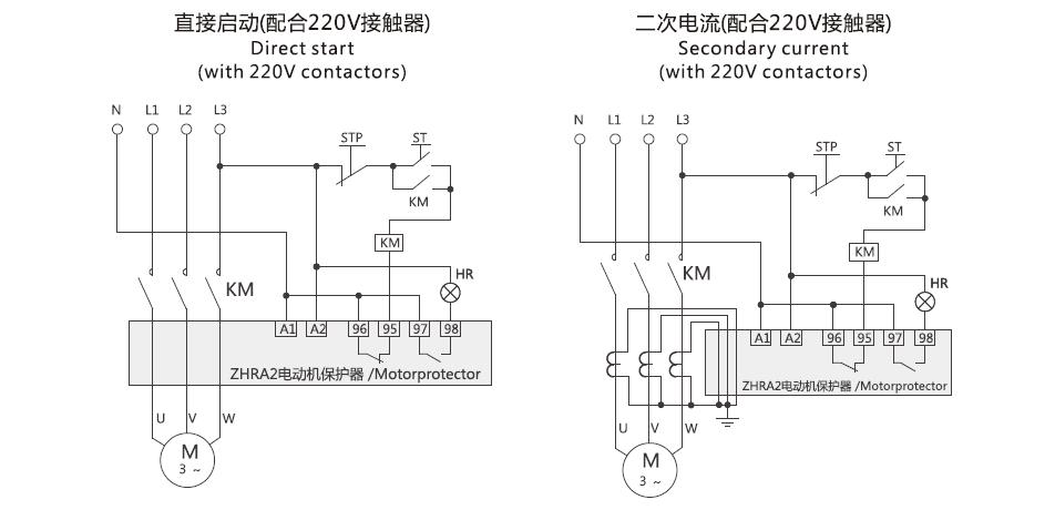 ZHRA2(S) Motor Protector relay