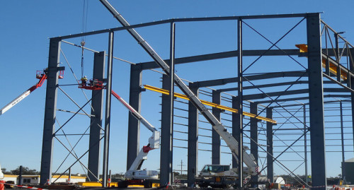 China Steel Structure Warehouse For Factory With CE Certification
