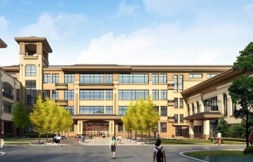 Modern Design Multi-Storey Prefabricated Steel Structure Building For School