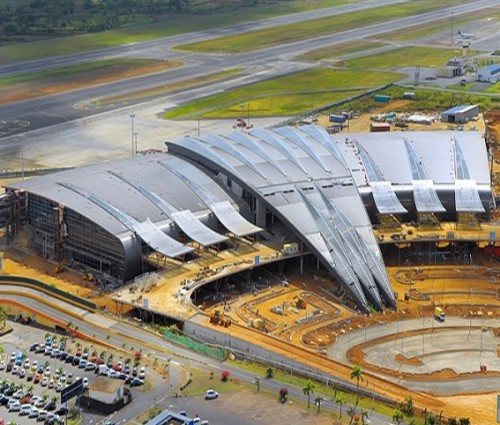 Prefab Steel Structure for Mauritius International Airport