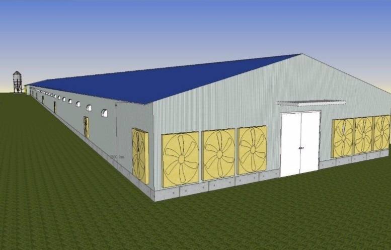 chicken house poultry farm