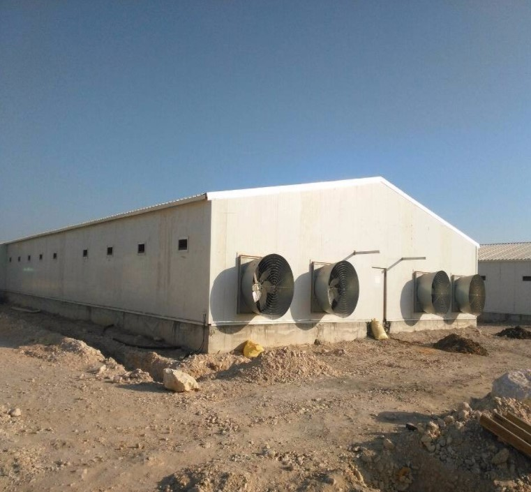 steel poultry farm