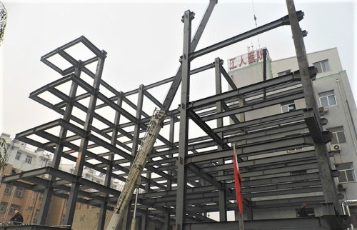 prefabricated steel structure building multi layer for hospital
