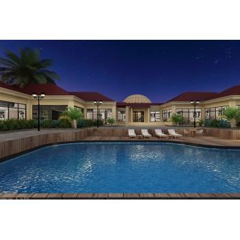 luxury prefab Light Steel Villa in UAE