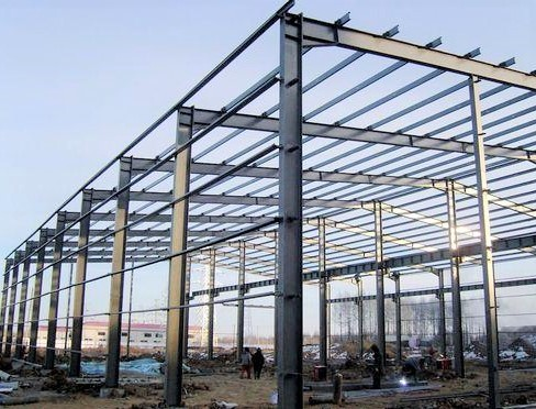 China  Galvanized Pre-Fabricated Steel Structure Workshop With Fast Construction in Malaysia