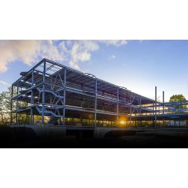 multi storey steel structure building for office school hospital supper market