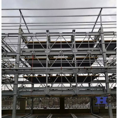 China steel building for three-dimensional garage steel structure