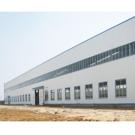 Cote d'Ivoire  Prefabricated Steel Structure Warehouse With CE Certification From China