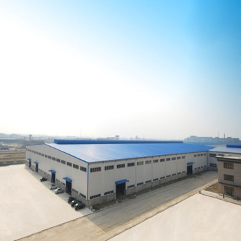Metal Steel  Structure Workshop Building With Storage Space And Good Heat Preservation From China
