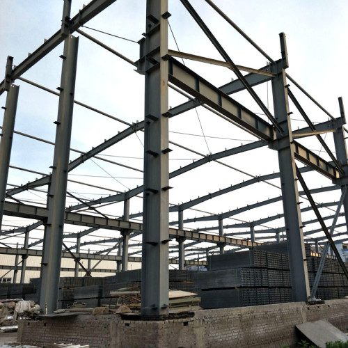 Philippines Prefabricated Steel Structure Frame  For Warehouse China