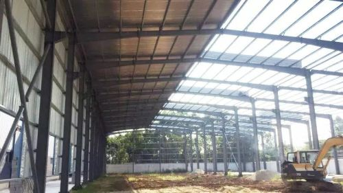 Morocco Steel Warehouse Prefabricated With Fast Installation
