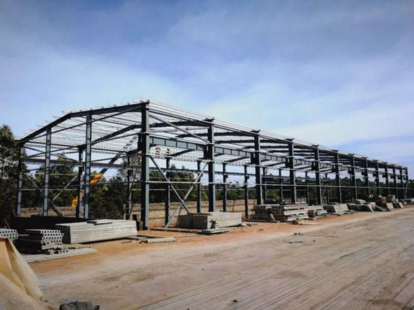 prefab steel warehouse China