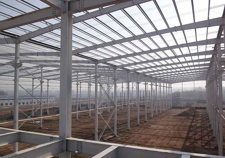 steel frame structure for warehouse