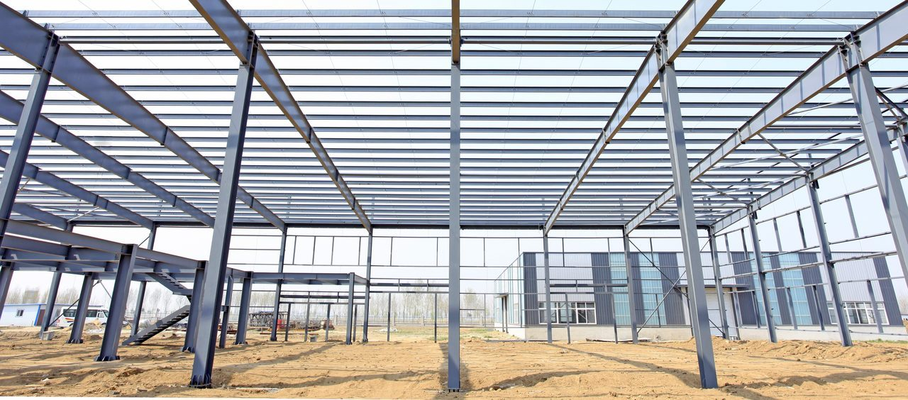 fireproof  steel structure building