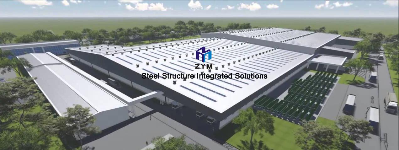 multi-storey steel structure building