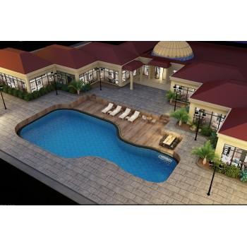 Prefabricated Modern Luxury Light Steel Villa House In UAE