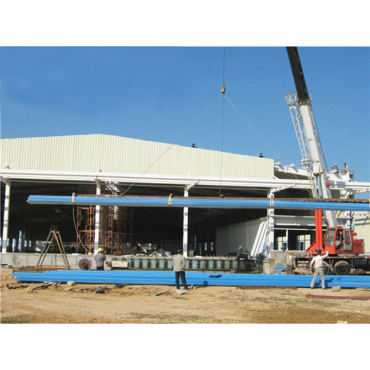 Single-layer Steel Structure Workshop Construction Design