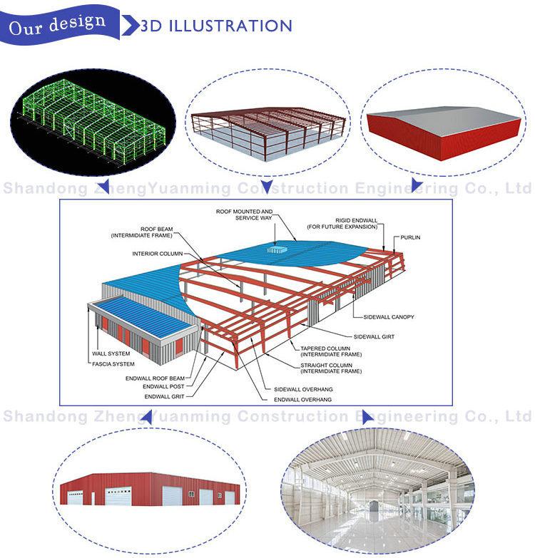 steel workshop design