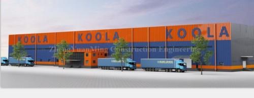 China New design Large span steel structure workshop