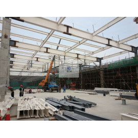 Malaysia Prefab Metal Steel structure Building For Workshop Made In China