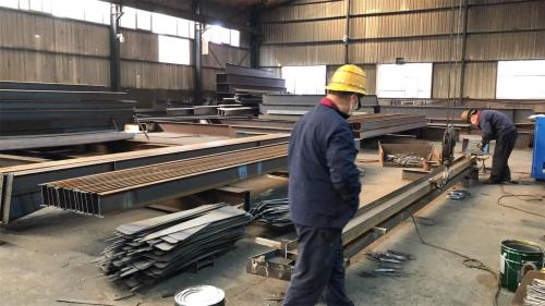 China prefabricated steel structure workshop warehouse supplier for Africa
