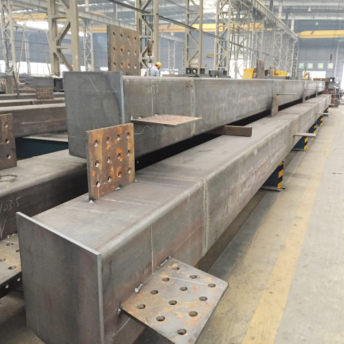 highrise multi-storey prefabricated steel structure building production work in China