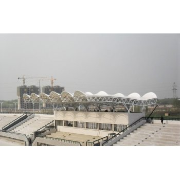 membrane structure project for Stadium