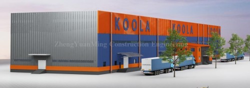 modern steel structure warehouse design easy installation in philippines malaysia thailand indonesia