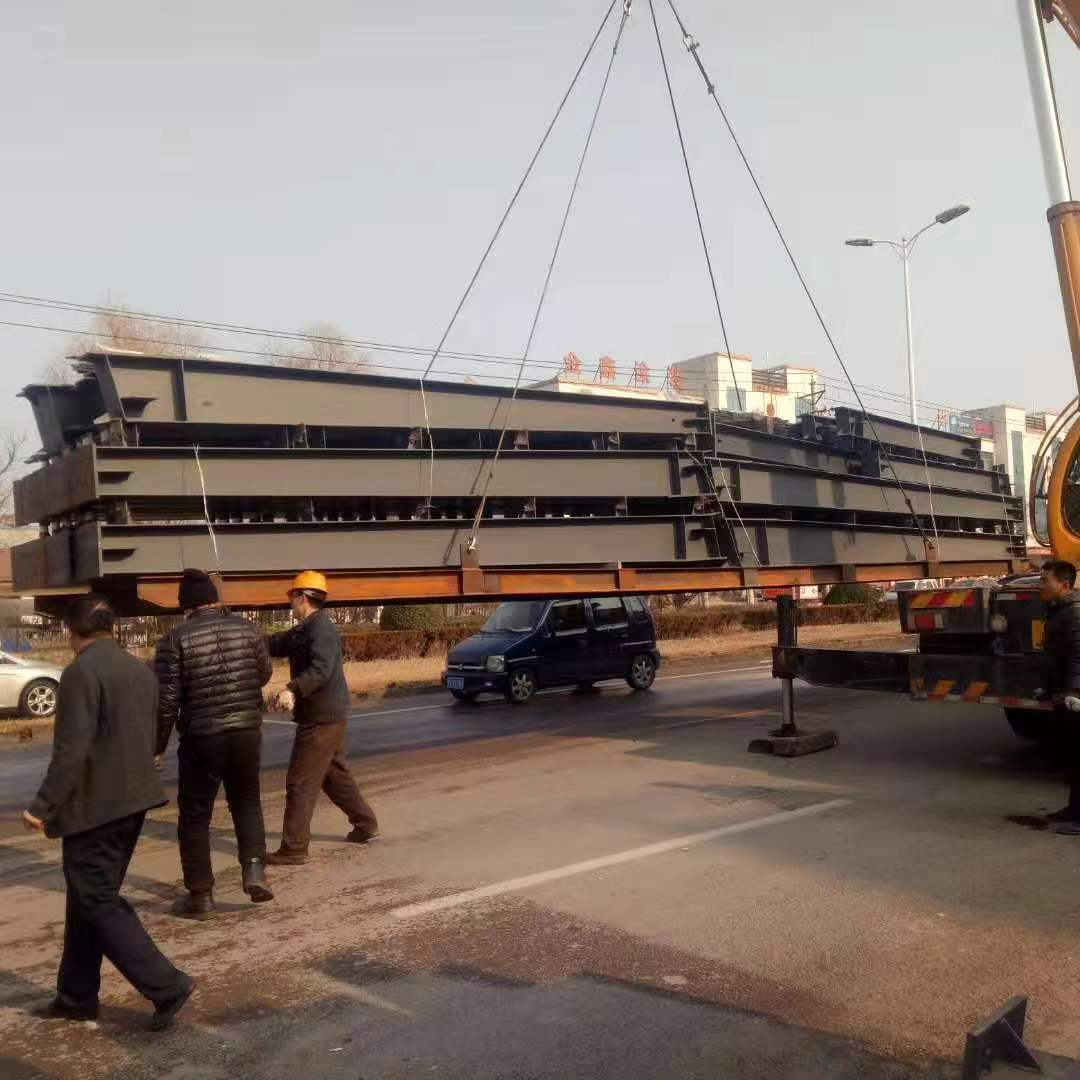 What if the steel structure components are damaged during delivery