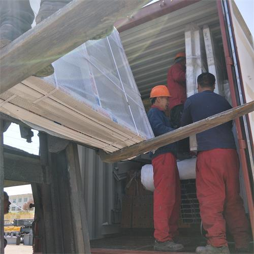 Senegal prefabricated steel structure warehouse workshop for poultry farm project