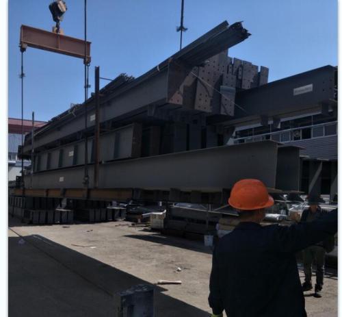 China Steel Structure Warehouse in Ghana burkina faso