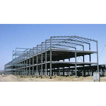 Sri lanka Fireproof  Multi-storey Prefabricated Steel Structure Building For Workshop