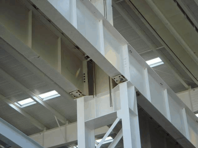 steel structure detail