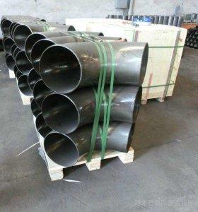 Instalación de tubería soldada a tope de acero al carbono Codo de 90 grados