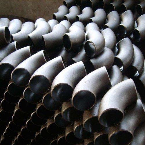 الكربون الصلب بعقب الأنابيب الملحومة تركيب 90 درجة الكوع